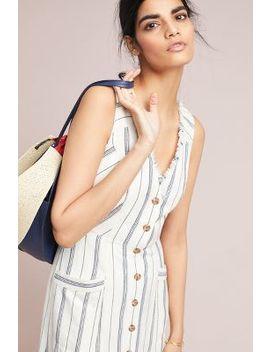 Leslie Textured Stripe Dress by Maeve