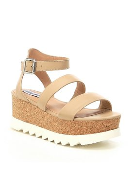 Steve Madden Kirsten Leather Platform Sandals by Steve Madden