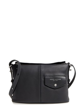The Side Sling Leather Crossbody Bag by Marc Jacobs