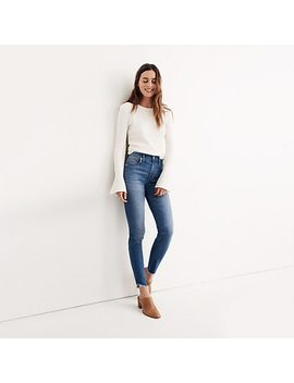 "Taller 10"" High Rise Skinny Jeans: Tulip Hem Edition by Madewell"