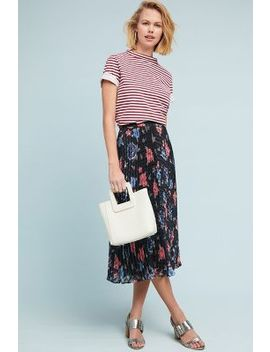 Chloe Pleated Skirt by Lily & Lionel
