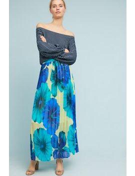 Terrarium Pleated Skirt by Eva Franco