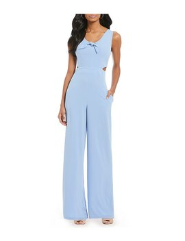 Fan Fav Tie Front Jumpsuit by Gb