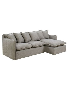 Iohomes Lauria Transitional Welting Trim Sectional Sofa   Homes: Inside + Out by Homes: Inside + Out