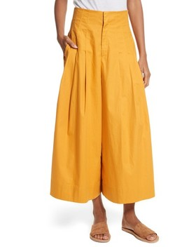 Corset Waist Culottes by Sea
