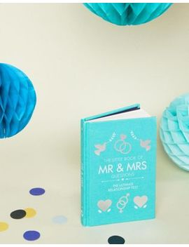Mr & Mrs Activity Wedding Gift Book by Asos Brand