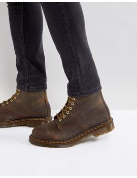 Dr Martens 1460 8 Eye Boots In Brown by Dr Martens