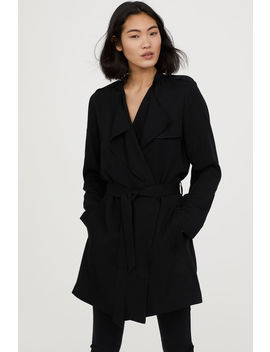 Short Lyocell Trenchcoat by H&M