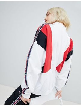 Champion Retro Track Jacket With Contrast Taping by Champion
