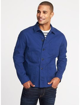 Built In Flex Chore Jacket For Men by Old Navy