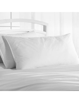 Hypoallergenic Down Alternative King Pillow by Crate&Barrel