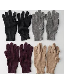 Baby Alpaca Tech Gloves by The Company Store
