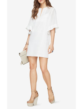 Tati Ruffle Sleeve Dress by Bcbgmaxazria