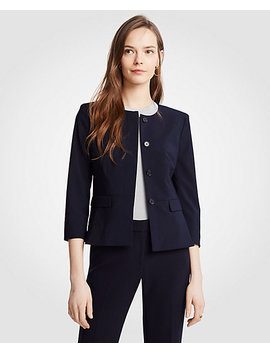 Seasonless Peplum Jacket by Ann Taylor