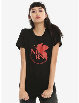 Neon Genesis Evangelion Nerv Logo Girls T Shirt by Hot Topic