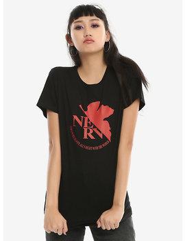 Neon Genesis Evangelion Nerv Logo Girls T Shirt by Hot Topic