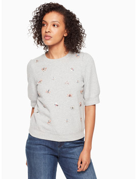 Bee Embellished Pullover by Kate Spade