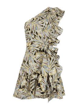 Safari One Shoulder Dress by Alexis
