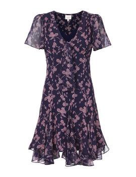Annali Tie Front Mini Dress by Cinq à Sept