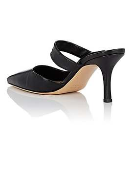 Gala Twist Leather Mules by The Row