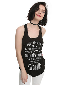 Disney The Little Mermaid Part Of Your World Crochet Back Girls Tank Top by Hot Topic