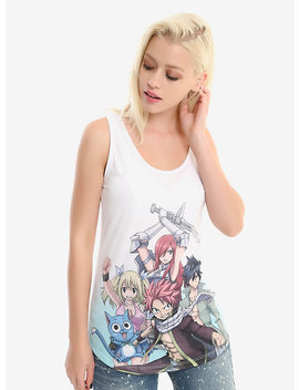 Fairy Tail Group Shot Girls Tank Top by Hot Topic