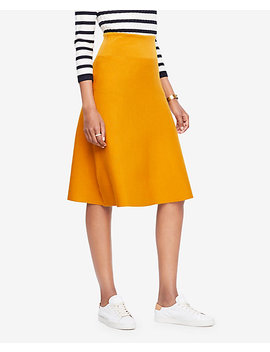 A Line Sweater Skirt by Ann Taylor