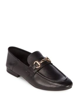 Kerry Leather Loafers by Steve Madden