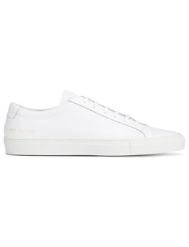 achilles-leather-lace-up-sneakers by common-projects