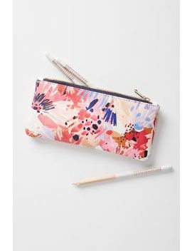 Lillian Farag Pencil Pouch by Lillian Farag
