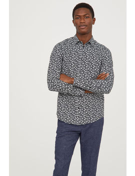 Floral Shirt Slim Fit by H&M