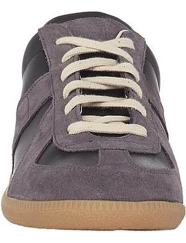 "Men's ""Replica"" Suede & Leather Sneakers by Maison Margiela"