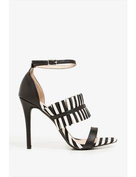 Stripe Right Heel by A'gaci