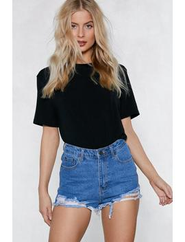 Melissa Relaxed Tee by Nasty Gal