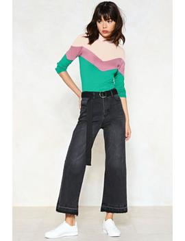 Into The Great Wide Open Cropped Jeans by Nasty Gal