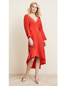 Asymmetric Hem Dress by Diane Von Furstenberg