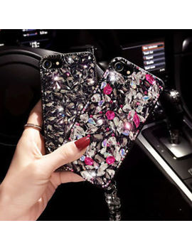 Luxury Rhinestone Bling Girl Red Diamond Jeweled Crystal Back Phone Case Cover by Unbranded/Generic
