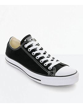 Converse Chuck Taylor All Star Black & White Shoes by Converse