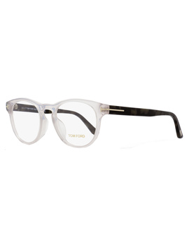 Tom Ford Oval Eyeglasses Tf5426f 020 Size: 49mm Transparent/Gray Havana Ft5426f by Tom Ford