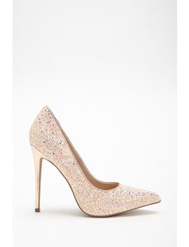 Shoe Republic Glittered Pumps by Forever 21