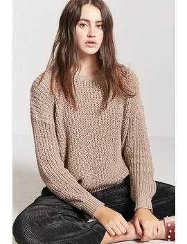 Drop Shoulder Crew Jumper by Forever 21