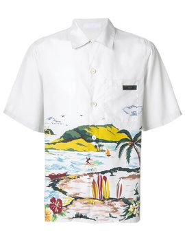 Hawaiana Short Sleeve Shirt by Prada