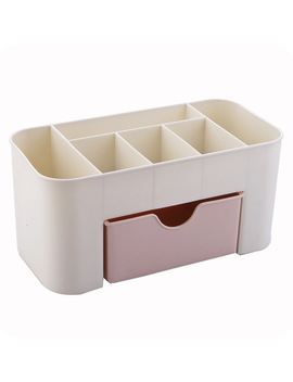 Nibesser 2017 New Women Cosmetic Case Make Up Toiletry Storage Cases Plastic Makeup Brush Box Lipstick Travel Wash Organizer  by Dear Friends Bag Store