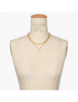 Pressed Petals Layered Necklace by Madewell