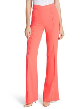 Jalisa High Waist Flared Leg Pants by Alice + Olivia