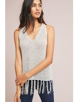 Michael Stars Fringed Knit Tunic by Michael Stars