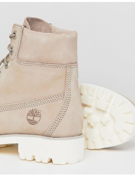 Timberland 6 Inch Light Heritage Cashmere Flat Boots by Timberland