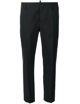 Cropped Tailored Trousers by Dsquared2