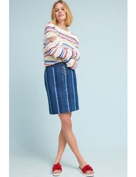 Blue Hill Pencil Skirt by Maeve