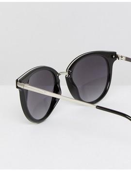 Esprit Round Sunglasses In Black by Esprit